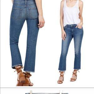 PAIGE Colette Crop Flare Denim Jeans